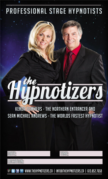 The Hypnotizers Promo Poster for Hypnosis Show